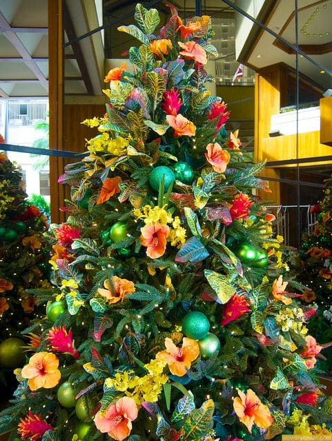 Christmas In Hawaii Decorations.Christmas Decorations In Hawaii Go Visit Hawaii