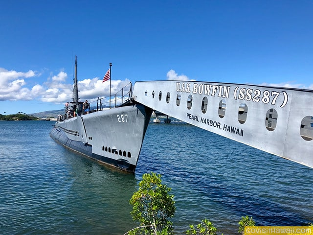 Pearl Harbor Oahu >> Touring The Uss Bowfin In Pearl Harbor Oahu Go Visit Hawaii